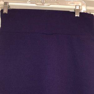 Purple LuLaRoe Cassie Skirt